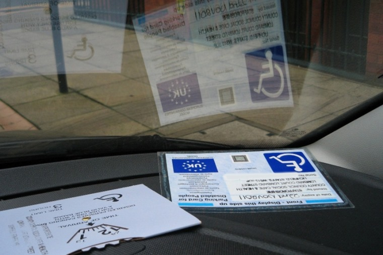 Blue badge entitlement is set to change in 2019