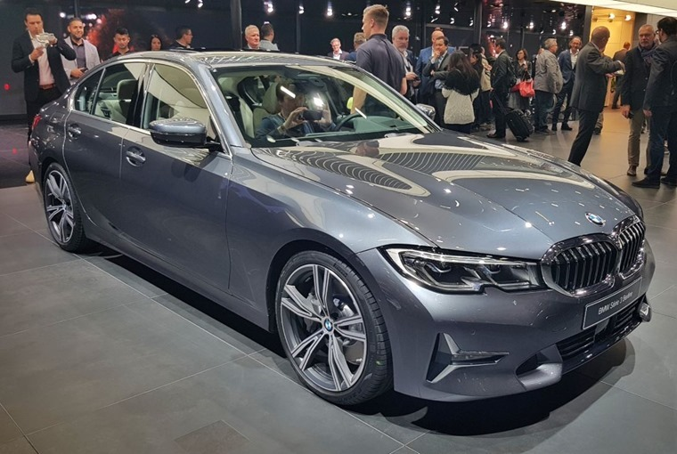 BMW 3 Series Paris Motor Show 2018