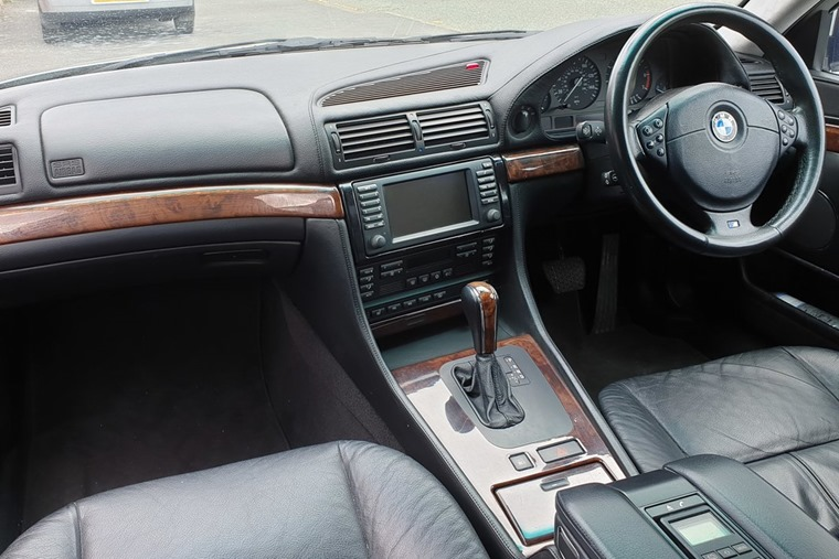BMW 7 Series introduced the electronic parking brake in 2001