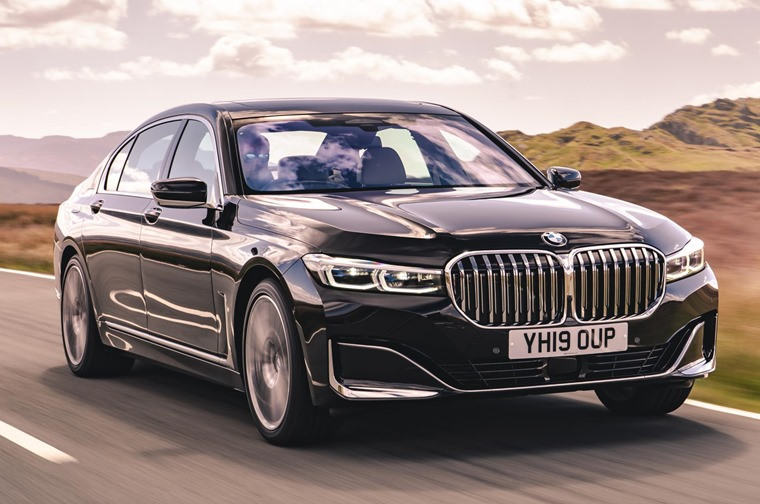 BMW 7 Series 2019 front