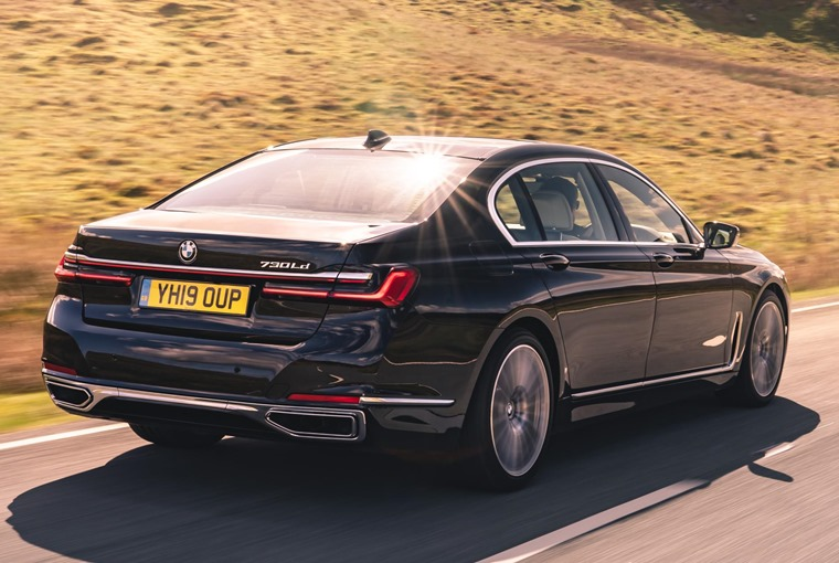 BMW 7 Series 2019 rear
