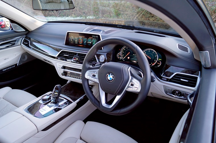 BMW 730d interior