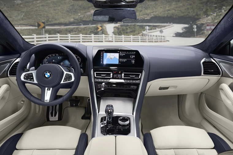 BMW 8 Series Gran Coupe interior[5]