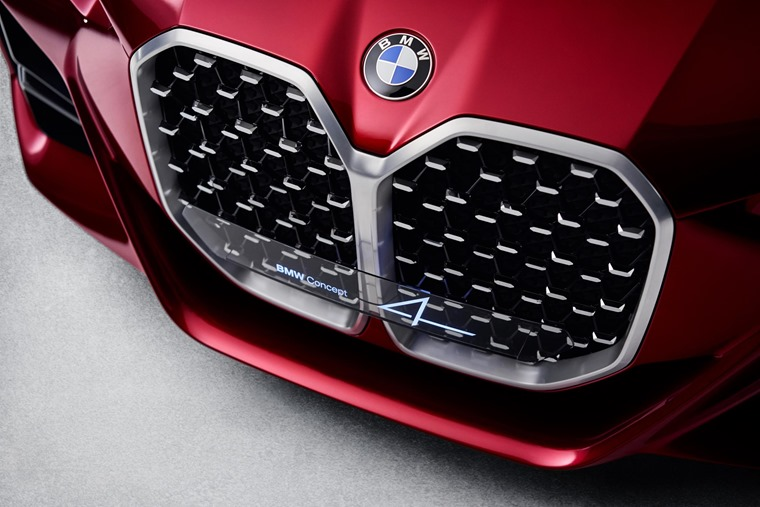 BMW Concept 4 grille