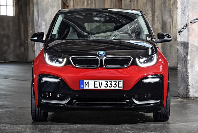 The BMW i3 gets a fresh face and better range.