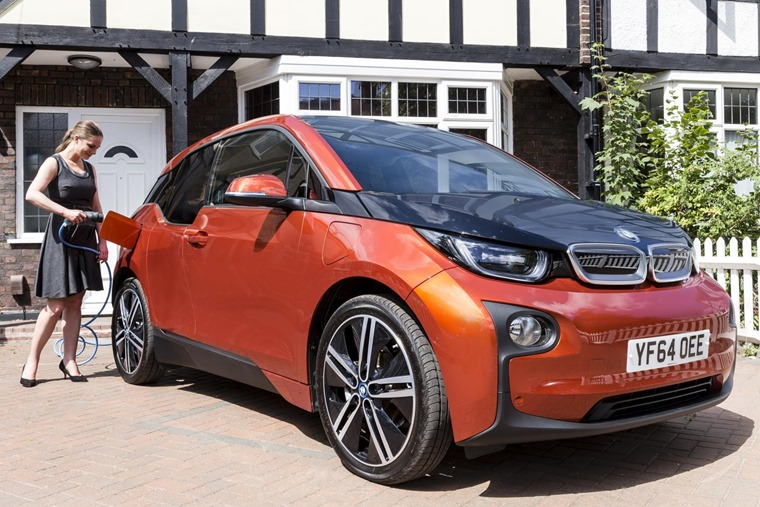 """A BMW i3 being """"home-charged"""". This will be the future, according to Go Ultra Low"""