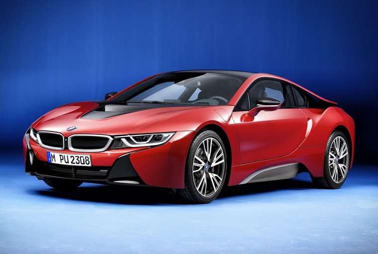 Limited Run Bmw I8 Protonic Red Edition Available September