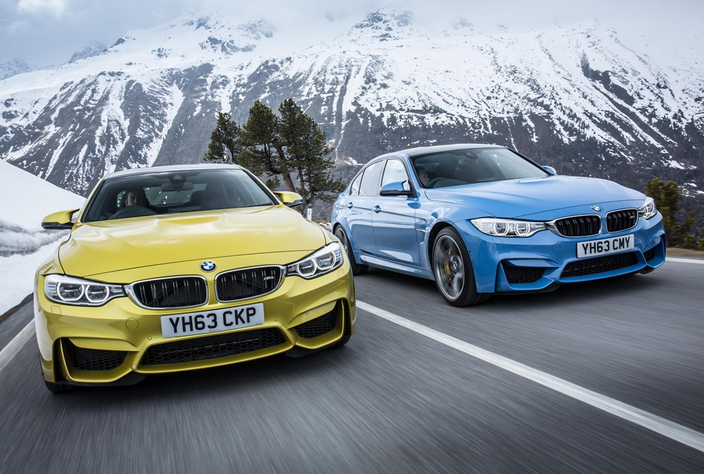 Price And Spec Confirmed For Bmw S M3 Saloon And M4 Coupe