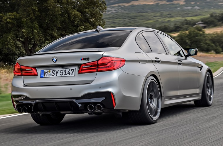 BMW M5 Competition rear