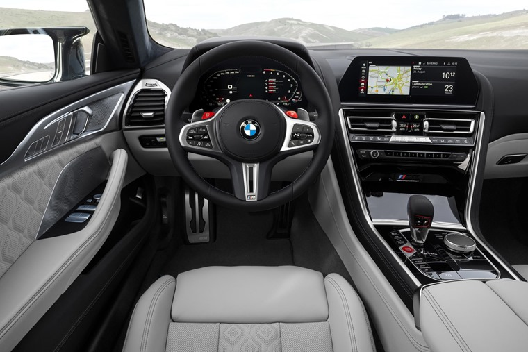 BMW M8 Gran Coupe interior
