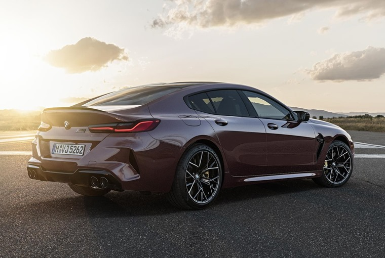 BMW M8 Gran Coupe side