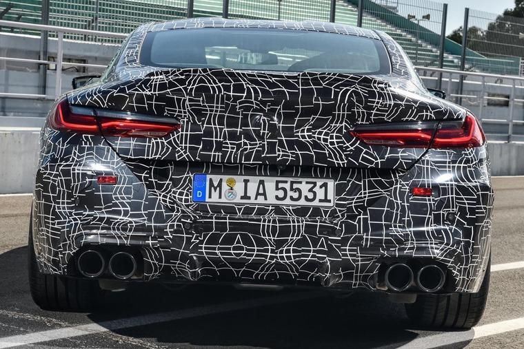 BMW M8 rear