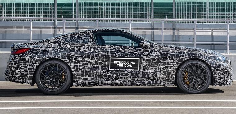 BMW M8 side