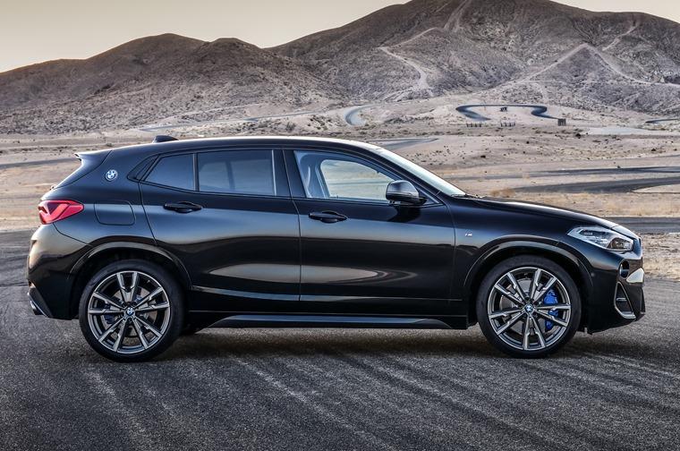 BMW X2 M35i side