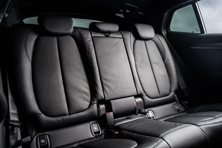 BMW X2 rear seats