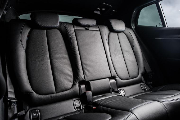 BMW X2 rear seats