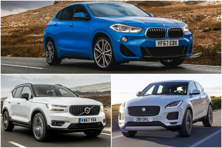 Head-to-head review: BMW X2 vs Volvo XC40 vs Jaguar E-Pace | Leasing com