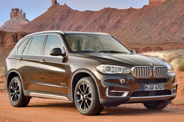 BMW X5 – a new one is on the way.