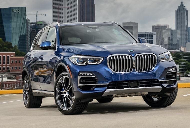 BMW X5 2019 front