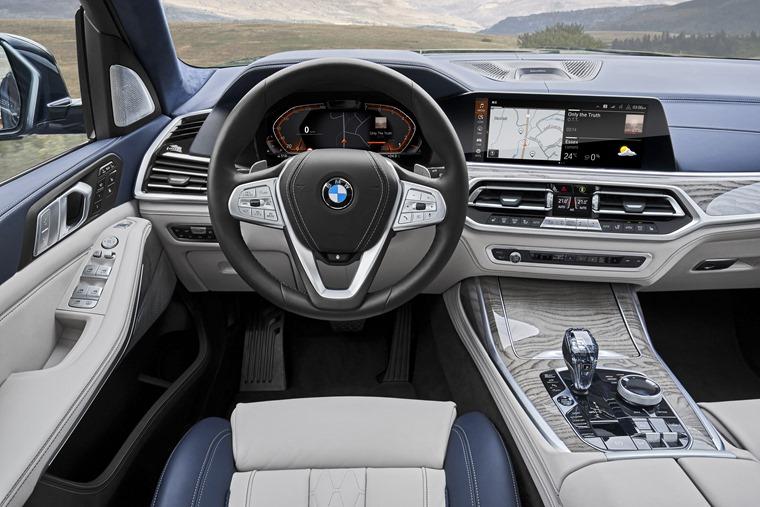 BMW X7 driver