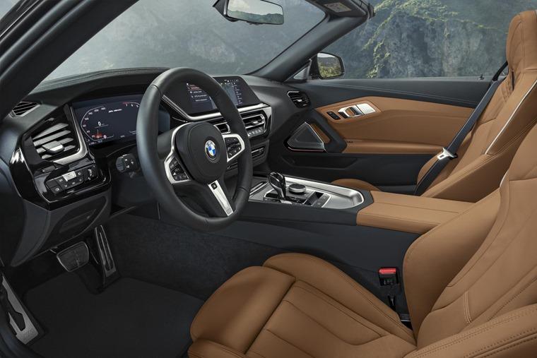 BMW Z4 2019 interior 1