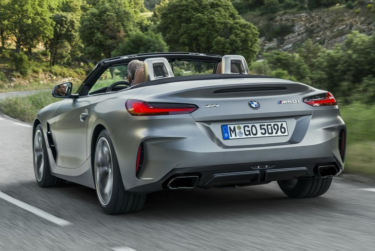 BMW Z4 2019 rear