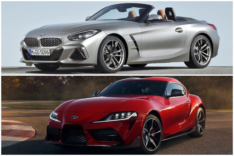 BMW Z4 and Toyota Supra