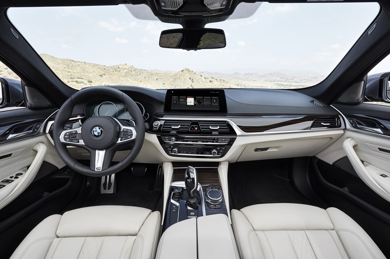 The interior's update brings the 5 Series back on level with the latest cars from Audi, Mercedes and Jaguar.