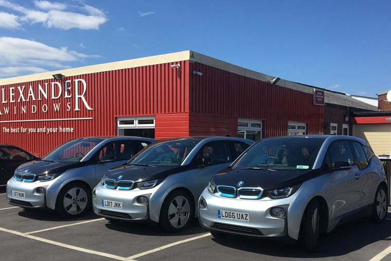 Alexander Windows is taking the lead when it comes to an eco-friendly fleet.