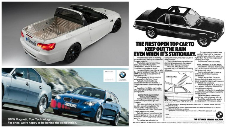 BMW's historic April Fools Pranks