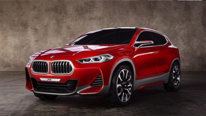 Low slung and sharp, the X2 could actually make it into production...