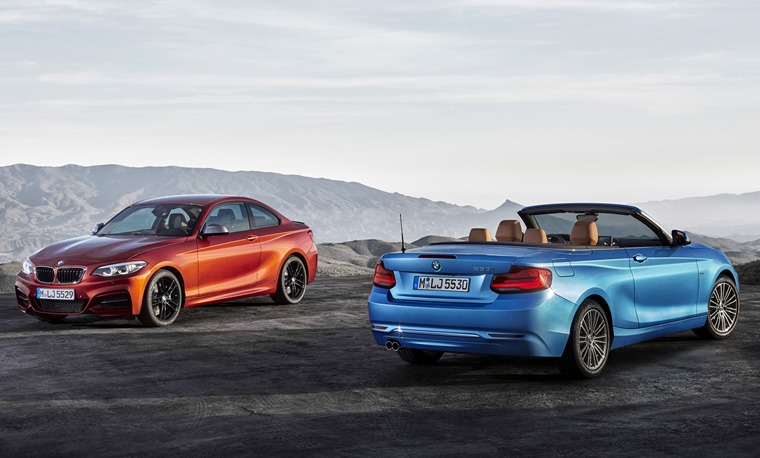 BMW 2 Series 2017 conv & coupe