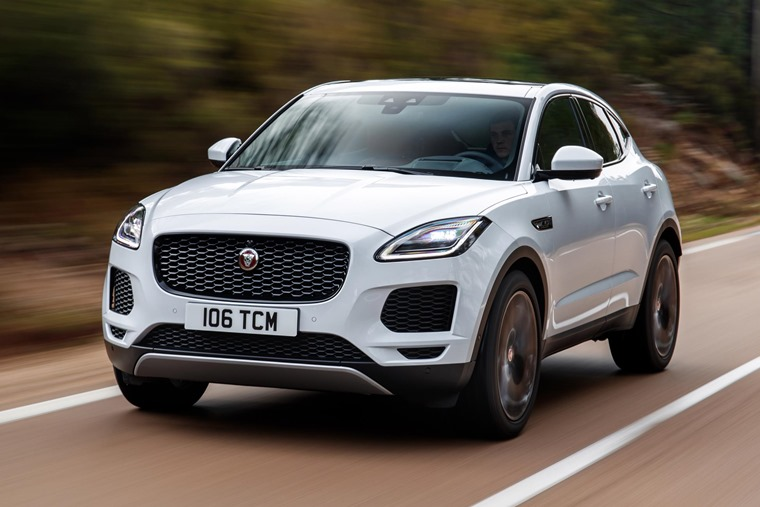 British-built Jaguar E-Pace