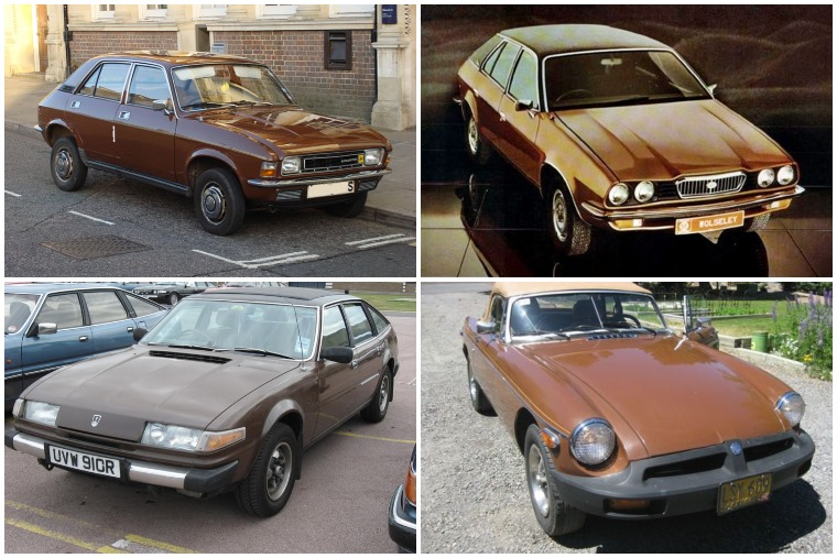 British Leyland Brown