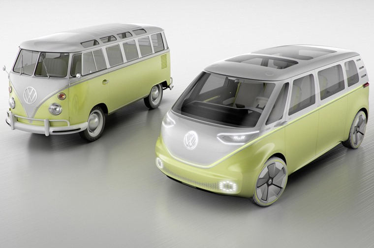 Volkswagen hopes I.D. models prove as iconic as some historic models, particularly the miniBUZZ...