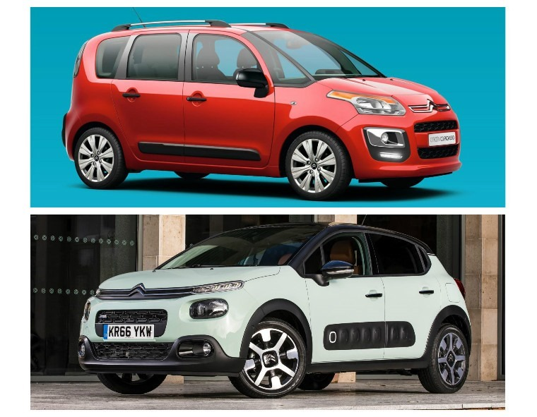 The new C3 Picasso will takes styling cues from its newer, smaller sibling (below)