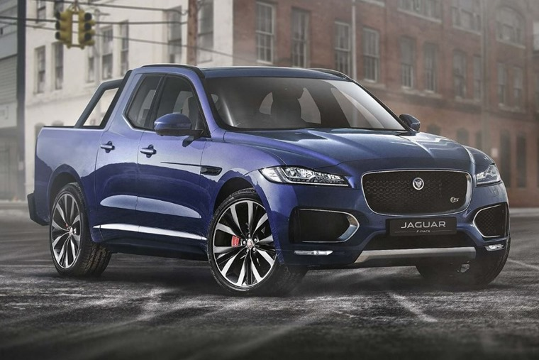 A Jaguar F-Pace pickup... Good idea or bad?