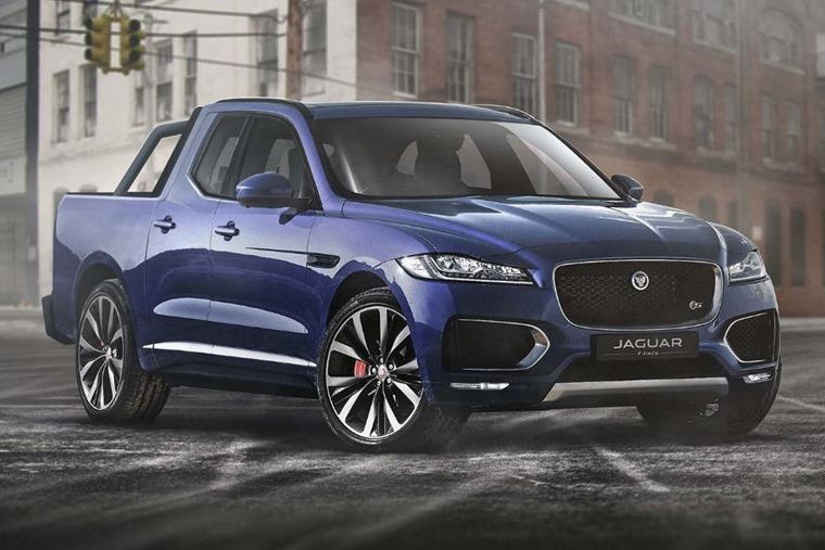 A Jaguar F-Pace pickup... Good idea or bad?
