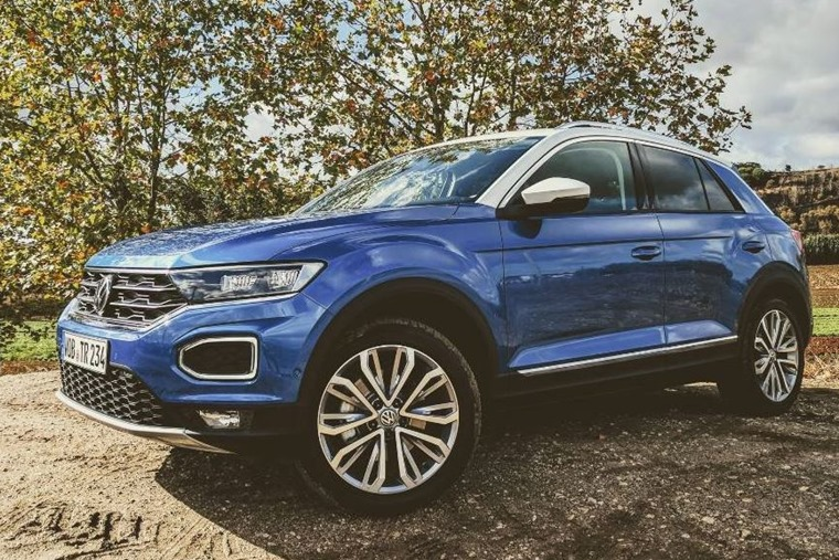 ... and the all-new Volkswagan T-Roc.