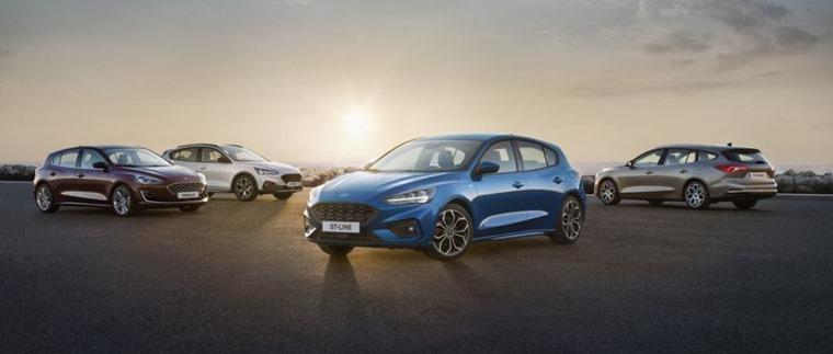 2018 Ford Focus range