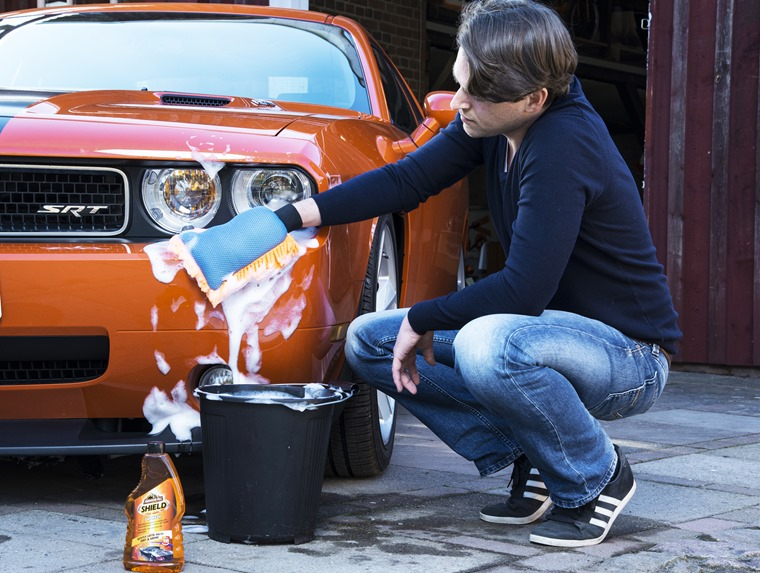 You're still well within your rights to use a bucket and sponge to clean your car.