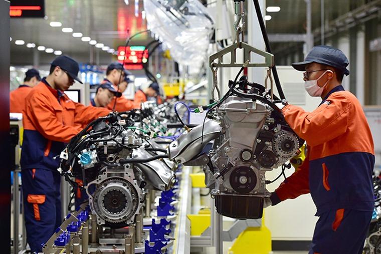 Car manufacturing in China