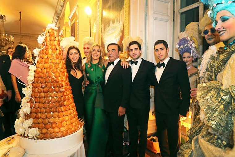 Carlos Ghosn Versailles party courtesy Town and Country Magazine