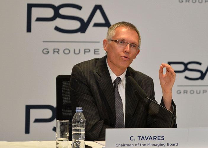 PSA chairman, Carlos Taveres