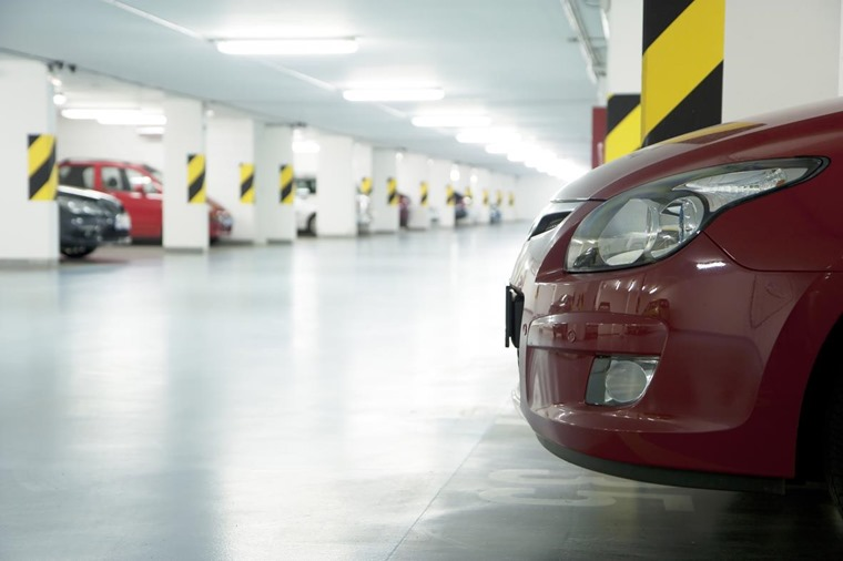 More modern car parks have wider bays and lighting that helps avoid collisions.