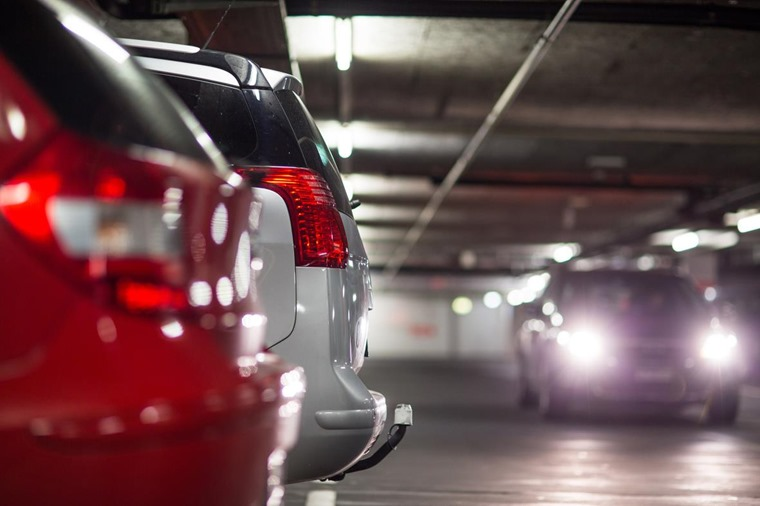 Multi-storey car parks are particuarly difficult to manoeuvre larger vehicles in.