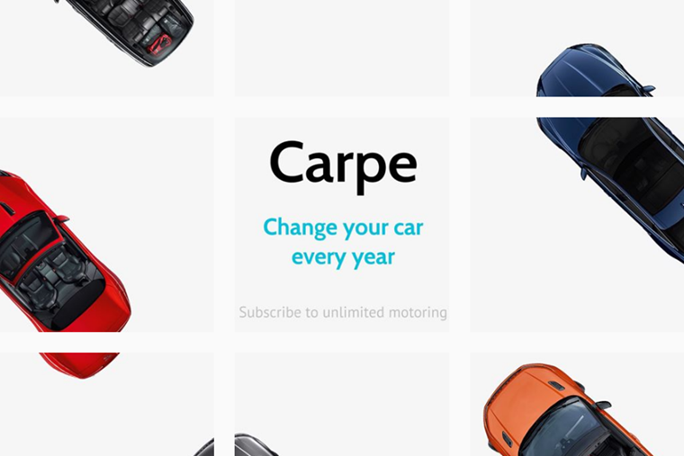 Carpe Jaguar Land Rover Subscription