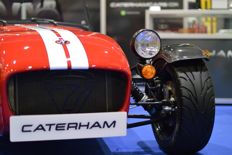 Caterham Drift Taxi