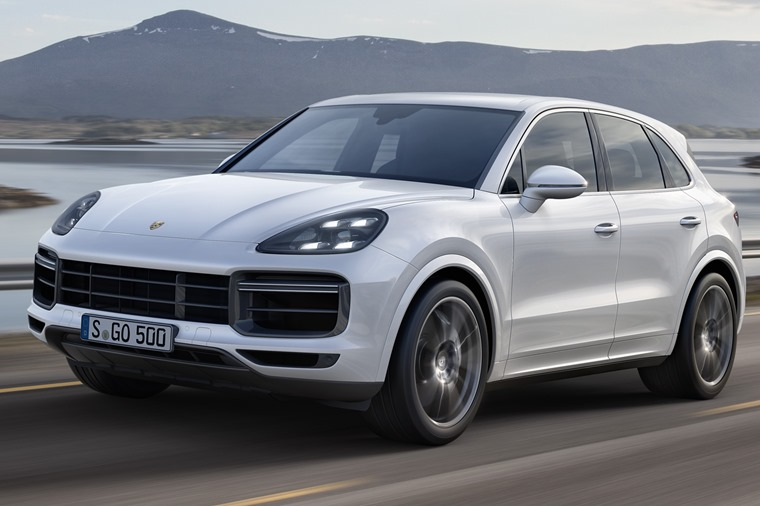 The blisteringly quick Cayenne Turbo gets a 0-62 time not far from a 911 GT3 RS'.