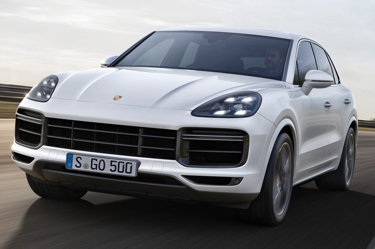 The Cayenne Turbo pictured here is Porsche's swiftest SUV to date.